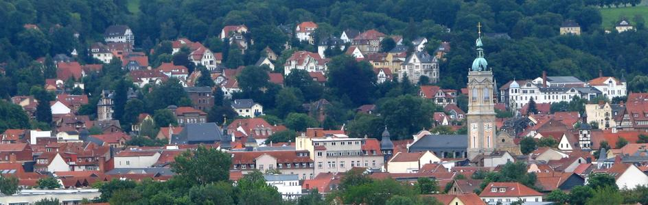 "Bild: Eisenach (Quelle: ""ESA Michelskuppenblick"" von Michael Fiegle - Eigenes Werk. Lizenziert unter CC BY-SA 3.0 über Wikimedia Commons - https://commons.wikimedia.org/wiki/File:ESA_Michelskuppenblick.jpg#/media/File:ESA_Michelskuppenblick.jpg)"